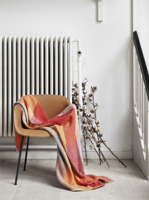 Muuto // Loom Throw, Materiale, 100% bomuld. Kastene er vævet manuelt.
